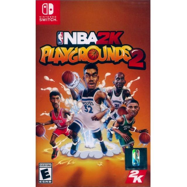 【Nintendo 任天堂】NS Switch 熱血街球場 2 中英文美版(NBA 2K Playgrounds 2)