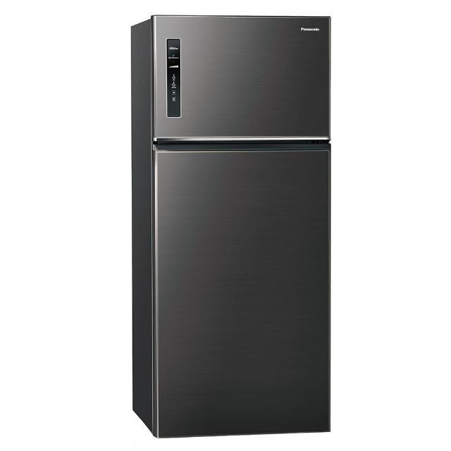 【Panasonic 國際牌】579L雙門變頻冰箱(NR-B589TV-A 星耀黑)