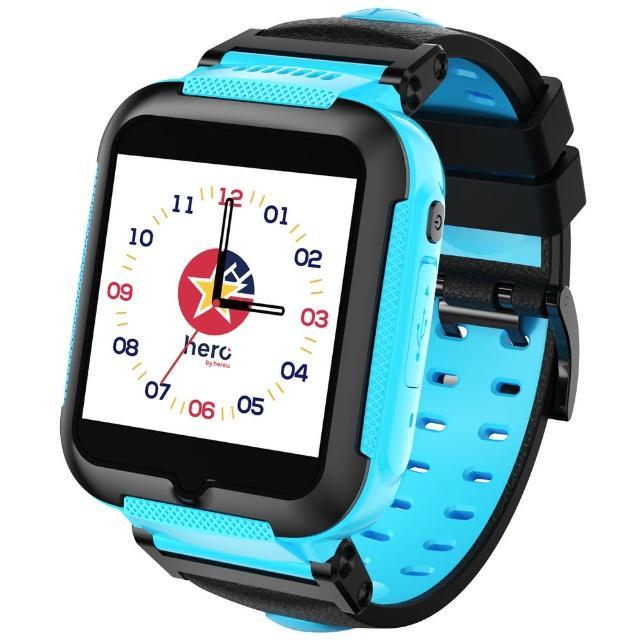 【hereu】herowatch 4G奈米科技防水兒童智慧手錶-英雄藍(即日折五百加送一個月免費聽活動 數量有限)