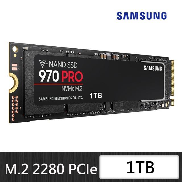 【SAMSUNG 三星】970 PRO 1TB NVMe M.2 2280 PCIe 固態硬碟 MZ-V7P1T0BW(MZ-V7P1T0BW)