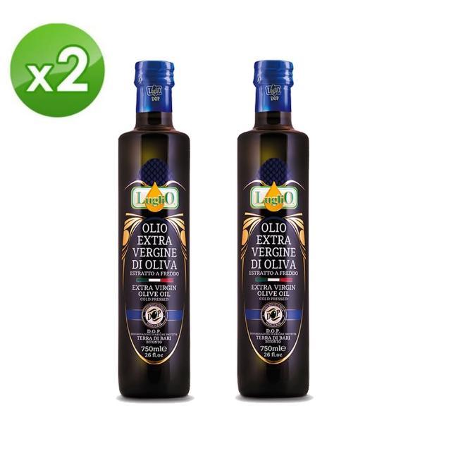 【LugliO 義大利羅里奧】特選DOP特級初榨橄欖油 500ml x2入