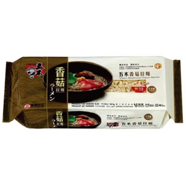 【五木】香菇味拉麵(321g)