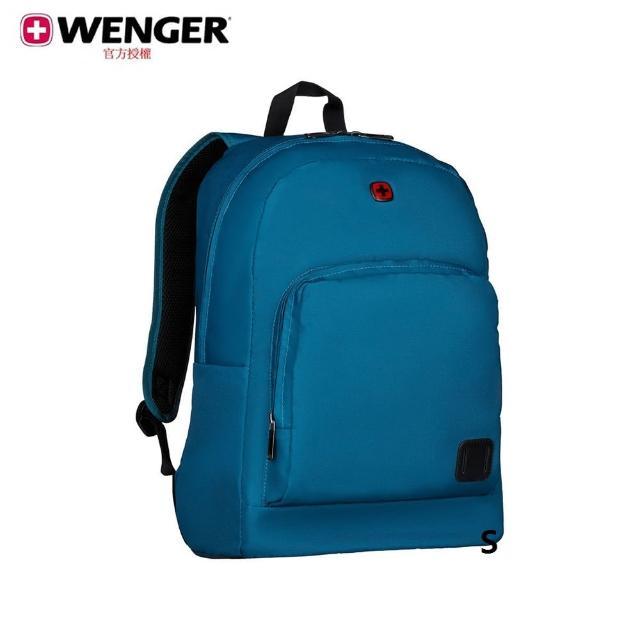 【WENGER 威戈】Crangoc 16吋電腦後背包 靛藍色(610199)