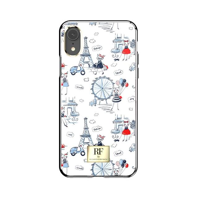 【Richmond&Finch】RF by R&F 瑞典手機殼 - 巴黎之戀(iPhone XR 6.1吋)
