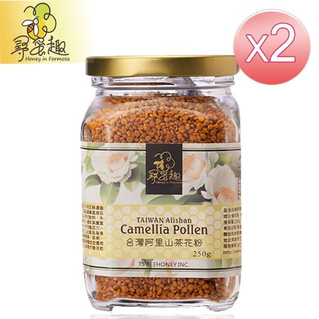 【尋蜜趣】台灣阿里山茶花粉(250g/罐*2入)