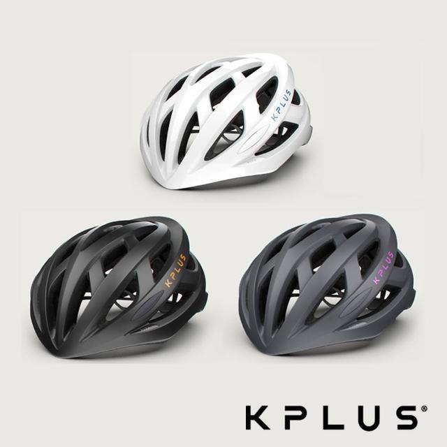 【KPLUS】VITA 單車安全帽 公路競速型 黑橘/白藍/灰粉 三色(安全帽/磁扣/單車/自行車)