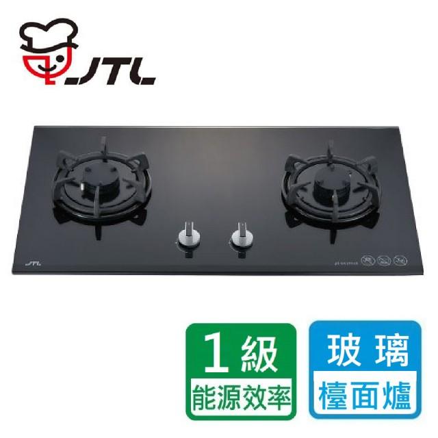 【喜特麗】JT-GC299AL 晶焱玻璃檯面爐(北北基含基本安裝)