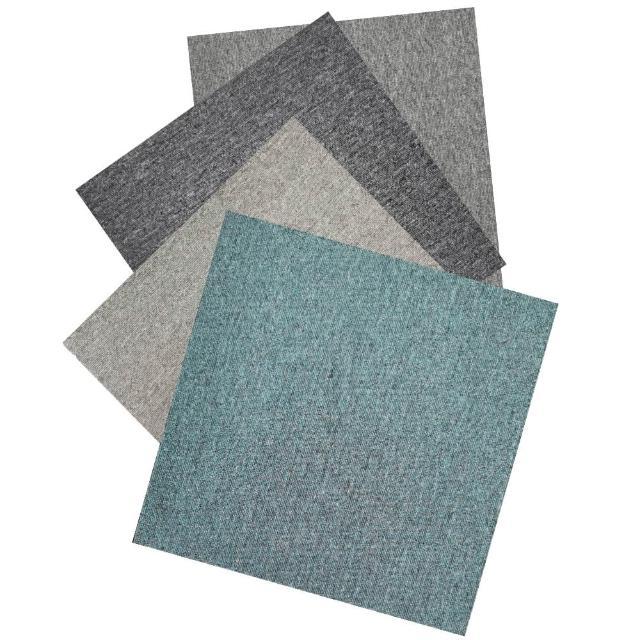 【山德力】快樂地多樣拼貼方塊地毯20片(50X50cm/片)