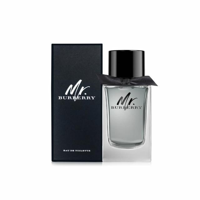 【BURBERRY 巴寶莉】Mr. Burberry男性淡香水50ml(原廠公司貨)
