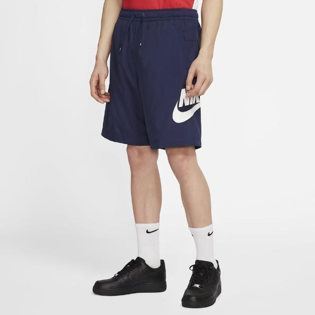 【NIKE 耐吉】AS M NSW CE SHORT WVN HYBRID 藍 男短褲(CJ4441410)