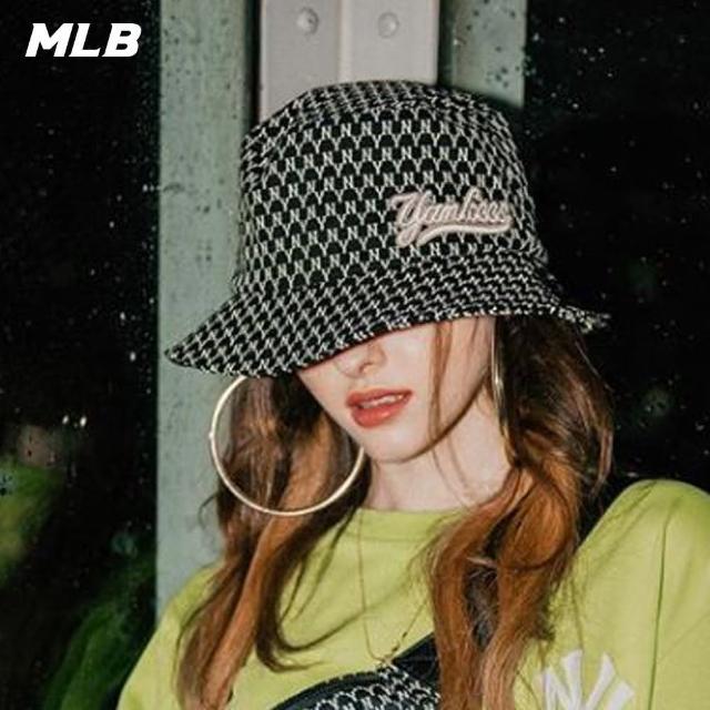 【MLB】MONOGRAM老花系列紐約洋基隊漁夫帽(32CPH1011-50L)