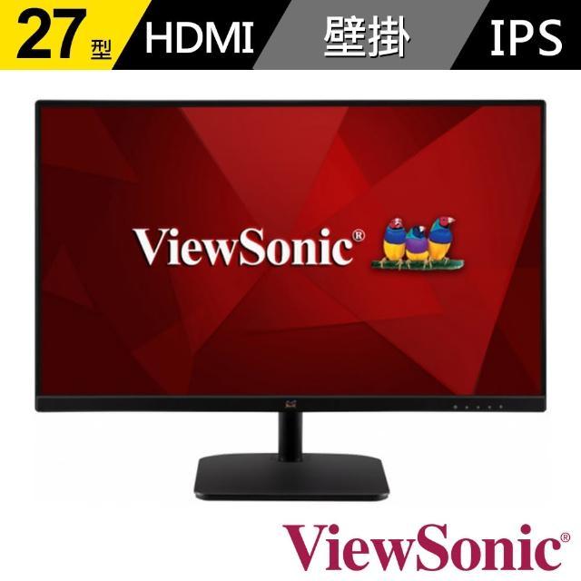 【ViewSonic 優派】VA2732-H 27型 IPS薄邊框顯示器