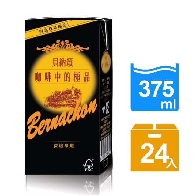 【貝納頌】咖啡深焙拿鐵375ml(24入/箱)