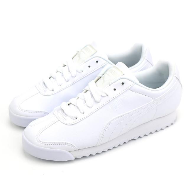 【PUMA】Roma Basic 男女休閒鞋 白(35357221)