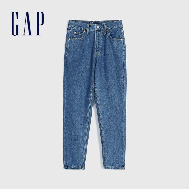 【GAP】女裝 時尚水洗五口袋牛仔褲(584282-中度水洗)