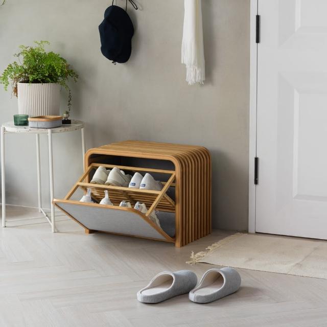 【Gudee 好迪家居】TOLIN 雙層收納鞋凳