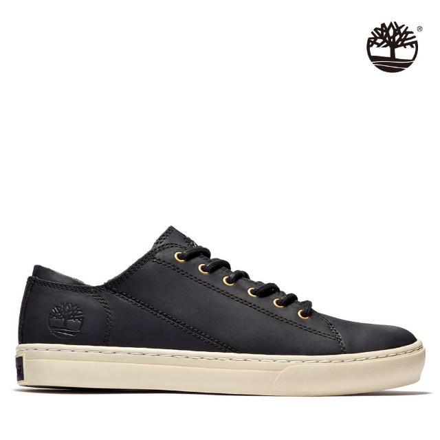 【Timberland】男款黑色全粒面革探索2.0牛津鞋(A2HGP015)