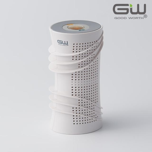 【GW 水玻璃】旋風360 分離式迷你除濕機 1入(不含還原座)