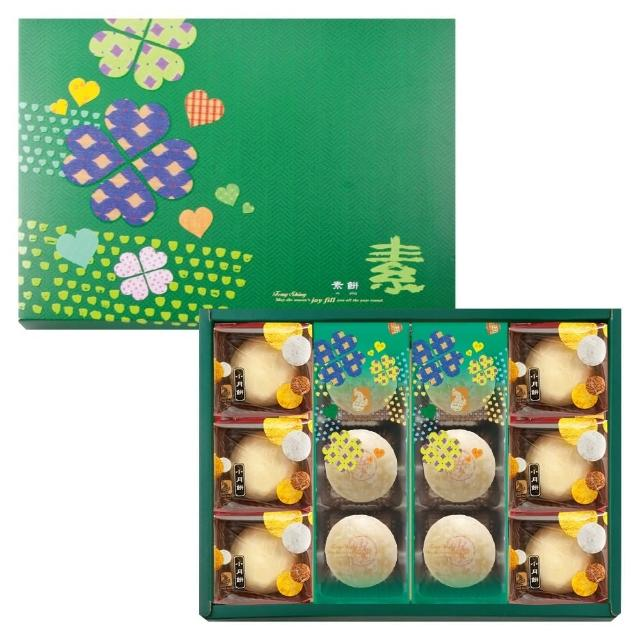 【豐興餅舖】綜合小月餅禮盒(12入/盒)