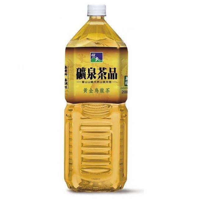 【悅氏】黃金烏龍茶2000ml