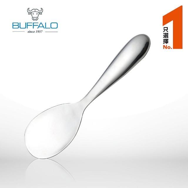 【Buffalo 牛頭牌】牛頭牌 雅潔不鏽鋼飯匙(大)