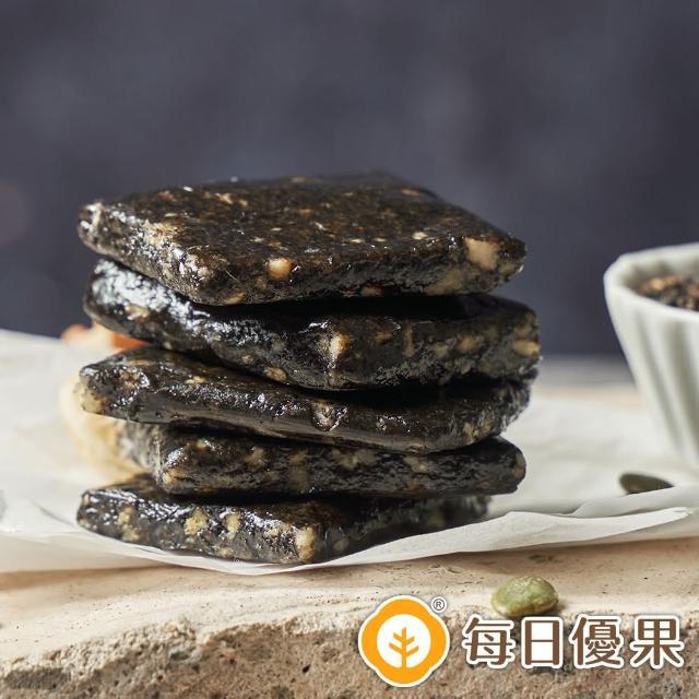 【每日優果】綜合堅果黑芝麻糕(200G)
