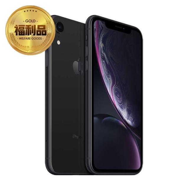【Apple 蘋果】福利品 iPhone XR 128GB 智慧型手機(9成新/原廠盒裝)