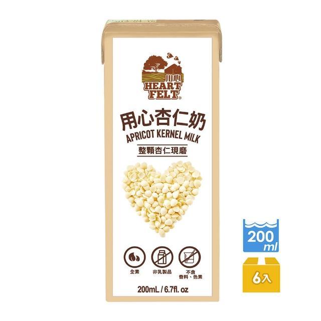 【HEARTFELT 用心】杏仁奶200ml*6入