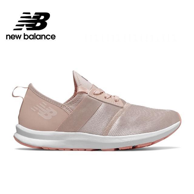 【NEW BALANCE】多功能訓練鞋 WXNRGXP-D 女鞋 淺橘(運動 休閒 潮流 時尚 訓練 機能)