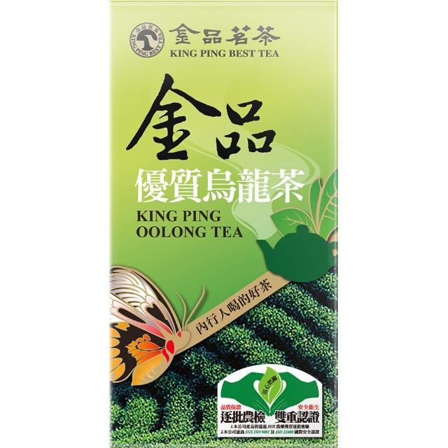 【金品】金品 優質烏龍茶150g手提盒裝(蝶戀茶香系列 檢驗合格)