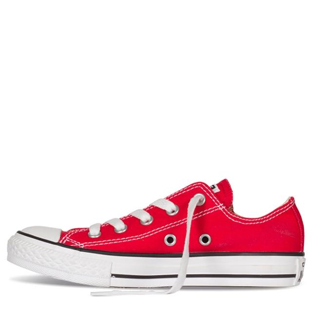【CONVERSE】Chuck Taylor All Star 紅 中大童 休閒鞋(3J236C)