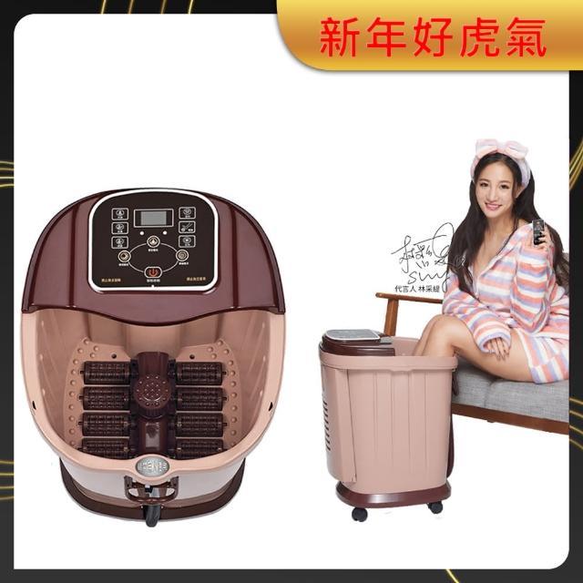 【SimLife】至尊招待所專用高桶電動腳底滾輪超強SPA按摩機(米咖啡/高桶/泡腳機/SimLife)