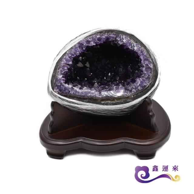 【鑫運來】頂級5A烏拉圭紫晶洞(2-4kg)