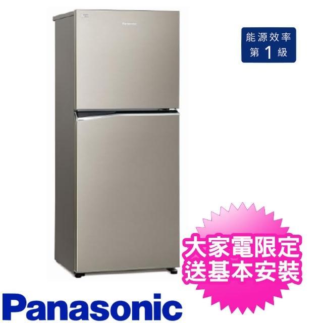 【贈雙面砧板與陶瓷刀★Panasonic 國際牌】366公升二門電冰箱(NR-B370TV-S1)