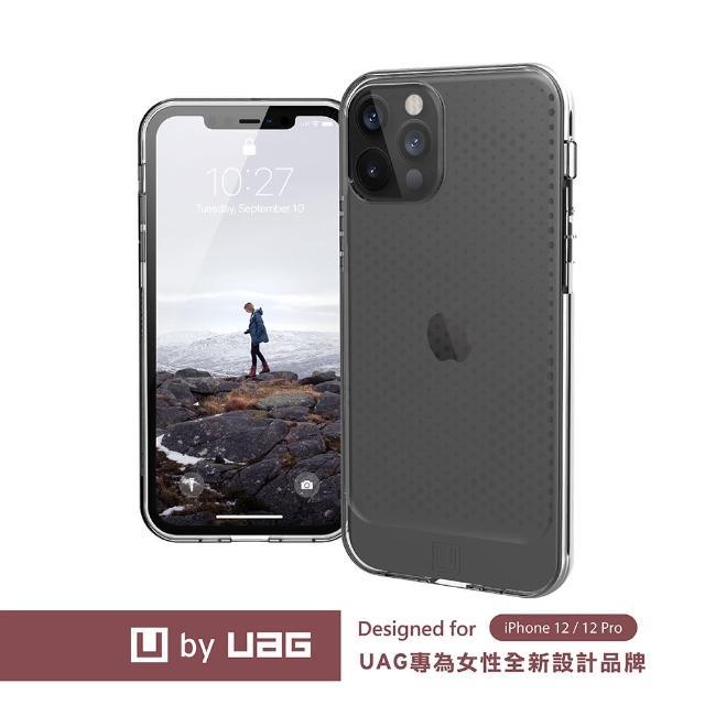 【UAG】(U) iPhone 12/12 Pro 耐衝擊保護殼-亮透明(U by UAG)