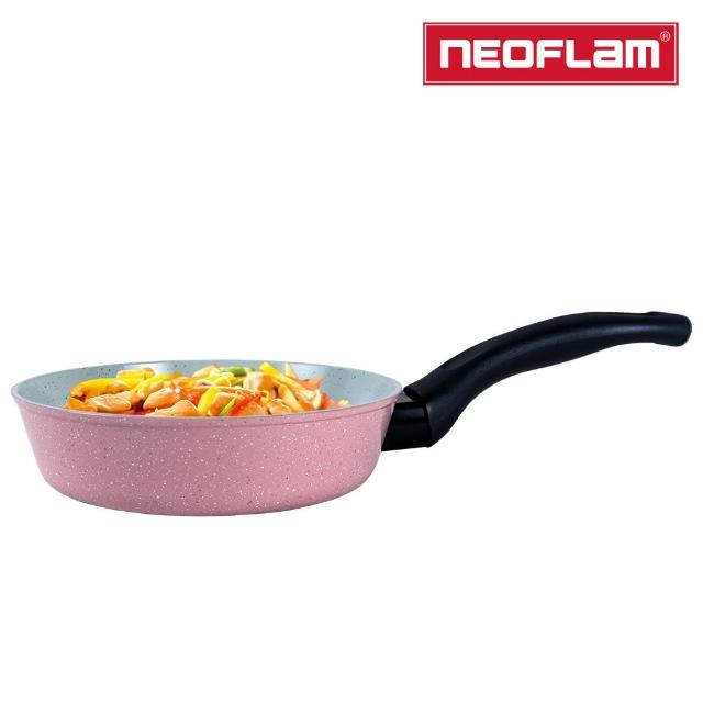 【NEOFLAM】Reverse抗菌彩色大理石系列 平底鍋20cm(適用各種爐具/無附鍋蓋)