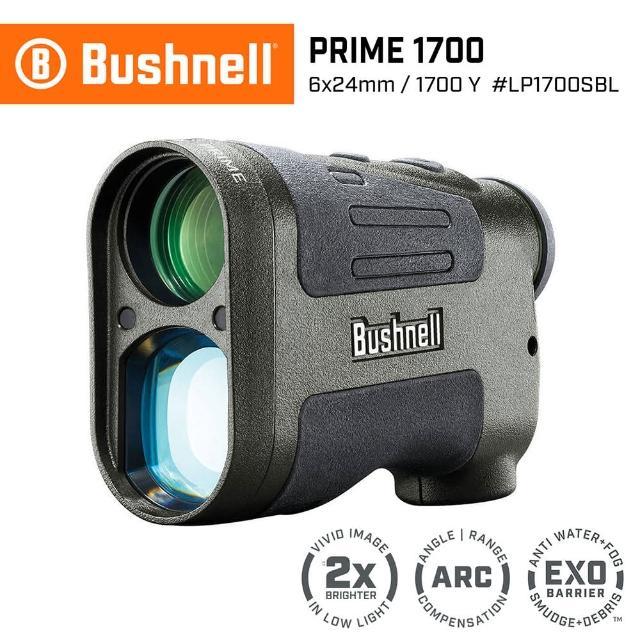 【Bushnell】Prime 1700 先鋒系列 7-1700碼 6x24mm 雷射測距望遠鏡 LP1700SBL(公司貨)