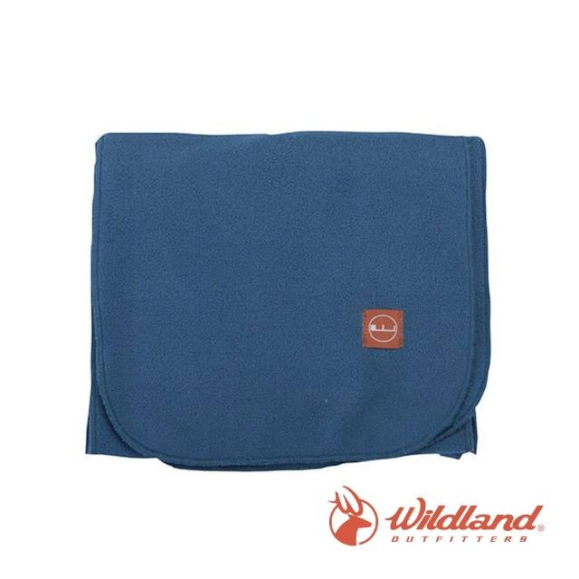 【Wildland 荒野】中性 輕柔PILE保暖圍巾-湖水藍 W2010-65(禦寒保暖/戶外休閒/保暖圍巾/輕柔圍巾/圍巾)