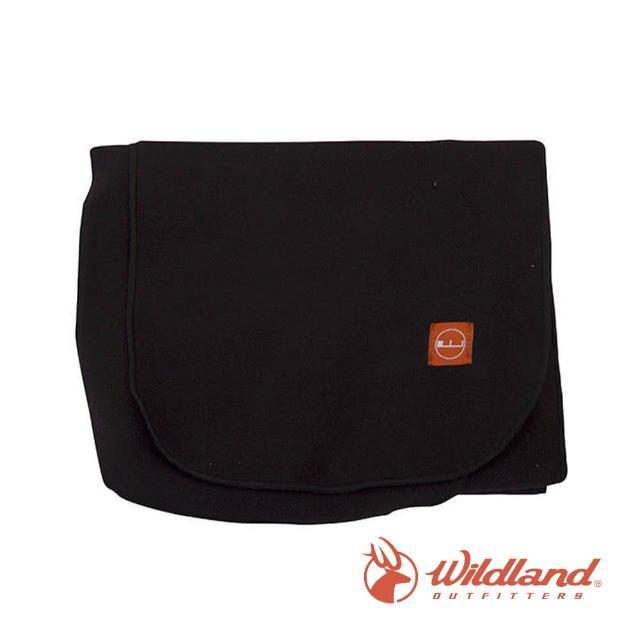 【Wildland 荒野】中性 輕柔PILE保暖圍巾-黑色 W2010-54(禦寒保暖/戶外休閒/保暖圍巾/輕柔圍巾/圍巾)