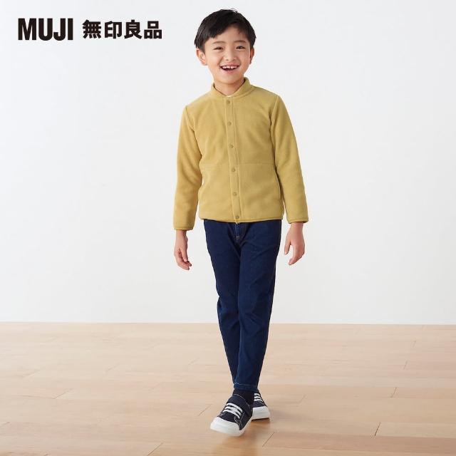 【MUJI 無印良品】兒童聚酯纖維刷毛外套(共4色)