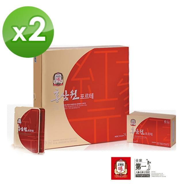 【正官庄】高麗蔘元forte禮盒 2盒組