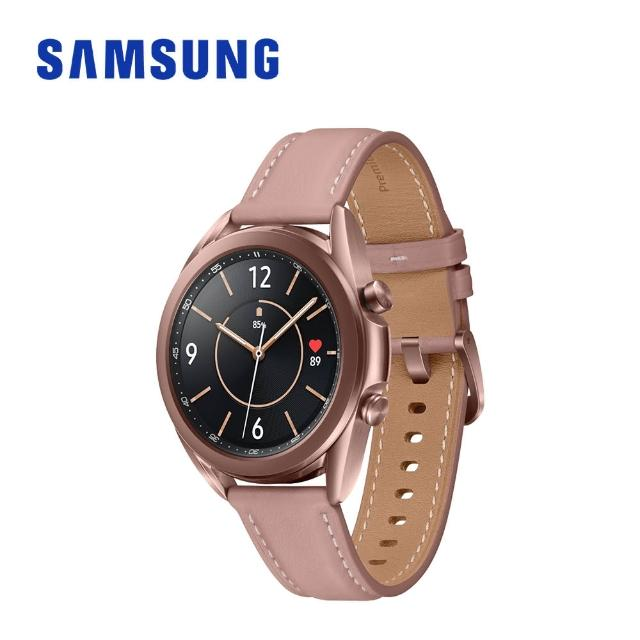 【SAMSUNG 三星】Galaxy watch 3 R855 41mm 智慧手錶(LTE版)