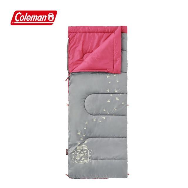 【Coleman】夜光型桃紅兒童睡袋C7 / 桃紅(CM-22263M000)