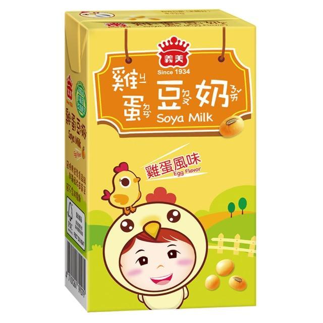 【義美】雞蛋豆奶(250ml/24入/箱)