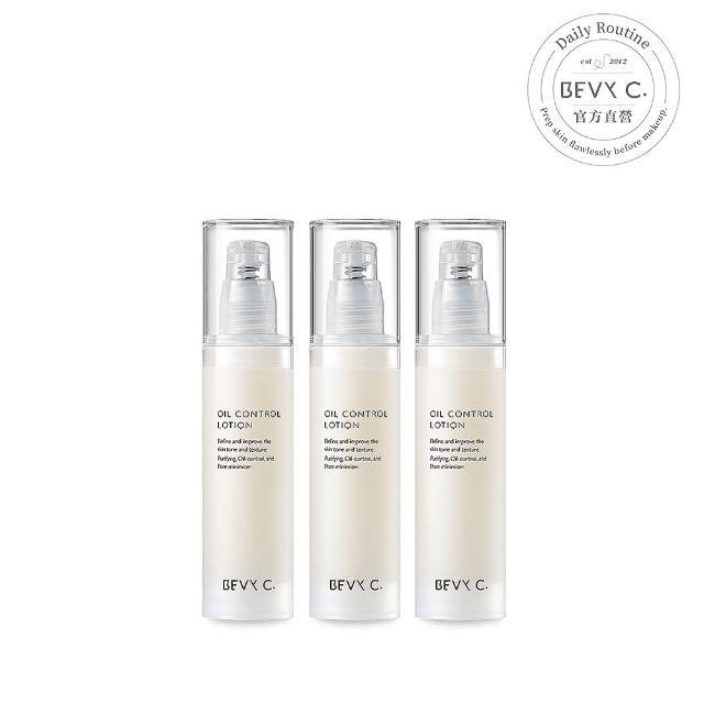 【BEVY C.】油脂平衡控油凝乳3件組(長效控油團購組)