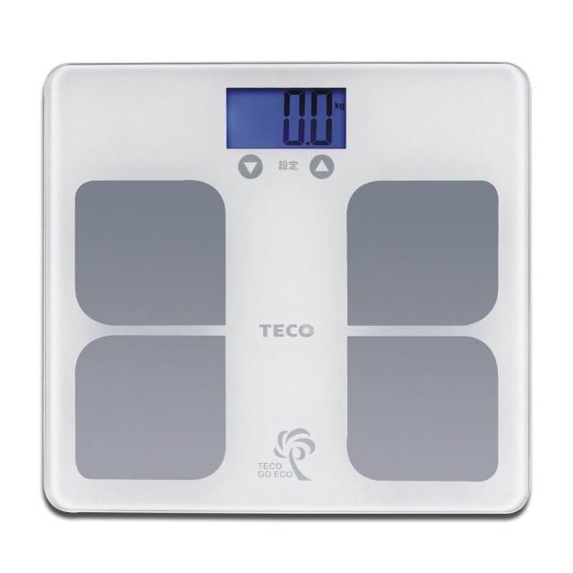 【TECO】東元BMI藍光體重計XYFWT521(快速測量人體體重及顯示身體質量指數BMI)