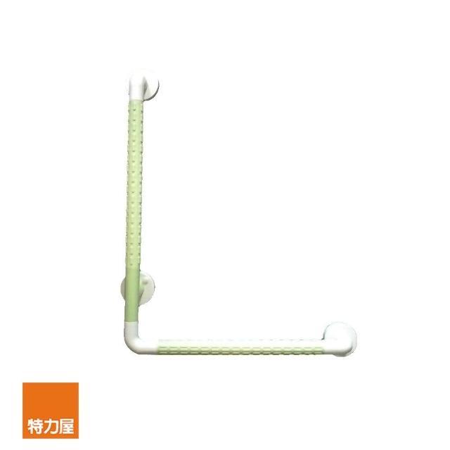 【特力屋】巧樂ABS抗菌防滑L型扶手 綠