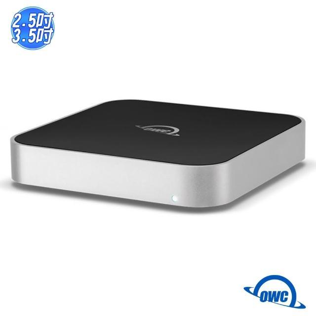【OWC】miniStack(可與 Mac mini 堆疊的 2.5 或 3.5 吋硬碟外接盒)