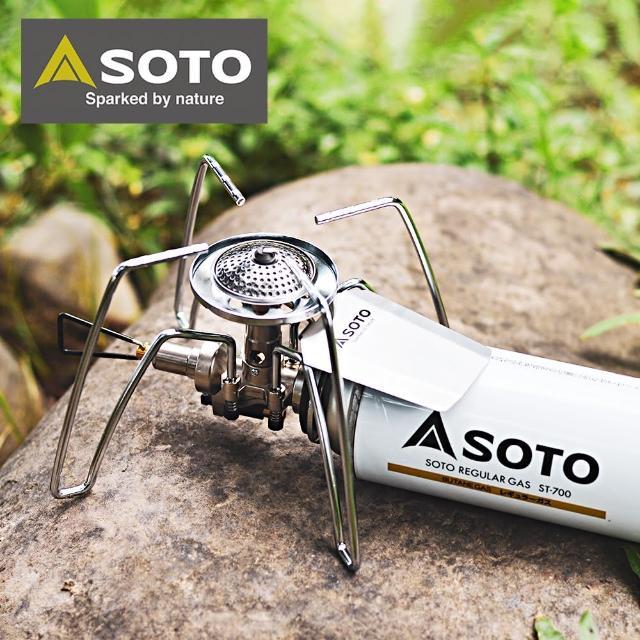 【SOTO】輕便型戶外休閒爐 ST-310(迷你蜘蛛爐)