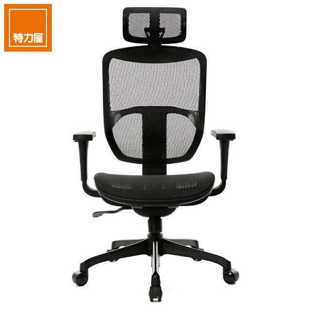 【特力屋】松林高背扶手全網椅 型號SL-S5T